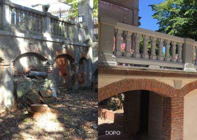 Ristrutturazione Ponte Villa Barberini Passignano
