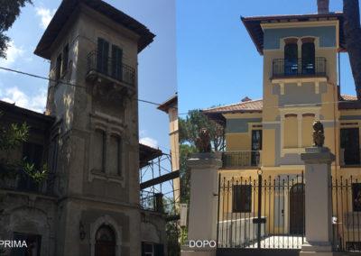 Villa Passignano prima-dopo